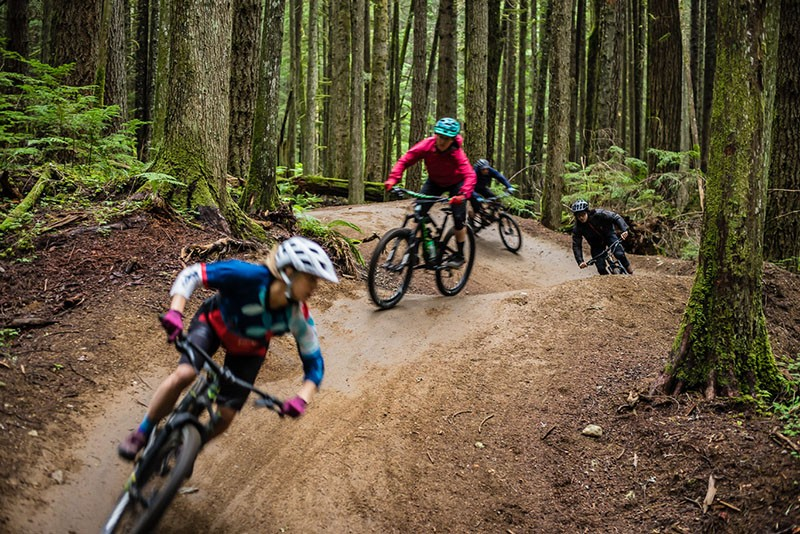 Mountain Bike Guiding in Squamish BC
