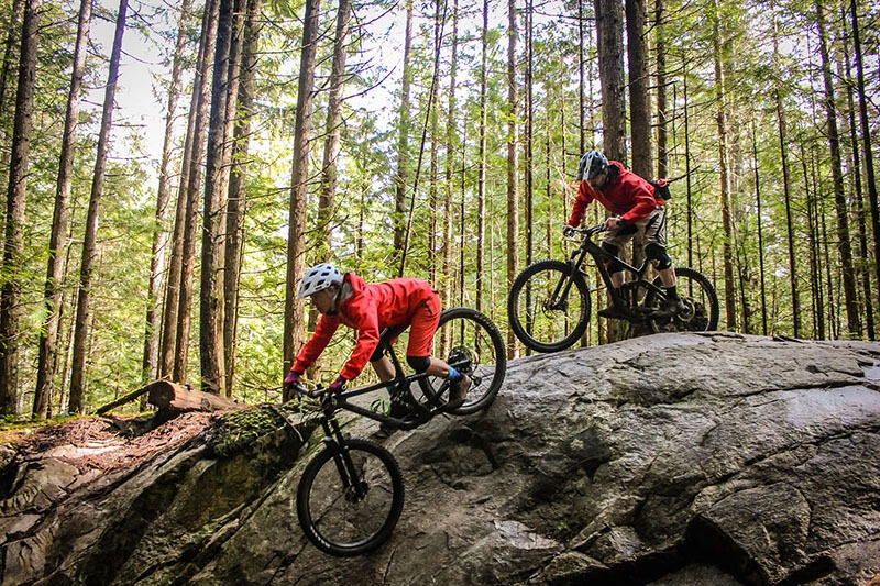 bike trails and tours in squamish